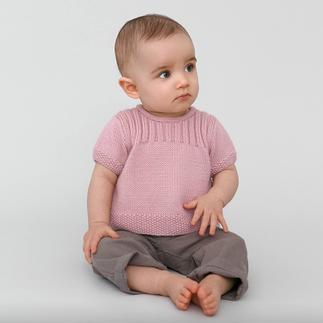 Anleitung 405/4, Babypulli (oder Babyjacke) aus Partner 3,5 von phildar Anleitung 405/4, Babypulli (oder Babyjacke) aus Partner 3,5 von phildar