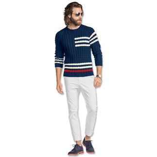 Anleitung 005/6, Pullover aus Merino-Cotton von Junghans-Wolle