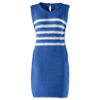 Anleitung 035/6, Kleid aus Cotonara von Junghans-Wolle