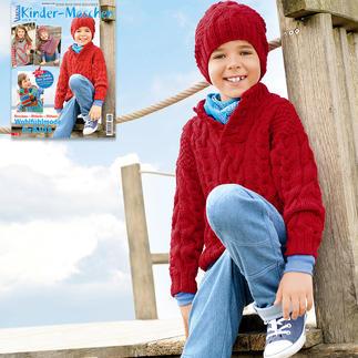 Anleitung 306/6, Kinder Pullover und Mütze aus Merino-Classic von Junghans-Wolle
