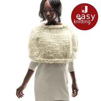 Anleitung 375/6, Cape aus Miss Wool von Schoppel-Wolle