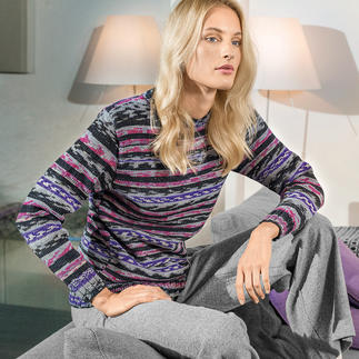 Anleitung 389/6, Pullover aus Merino Extrafine Color 120 von Schachenmayr