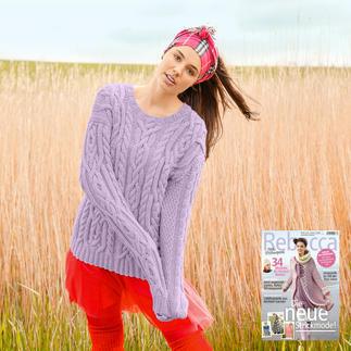 Anleitung 417/6, Pullover aus Sportlife von ggh, Modell aus Rebecca Heft Nr. 63