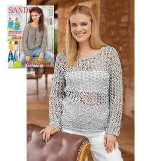 Anleitung 039/7, Pullover aus Bandana von Junghans-Wolle
