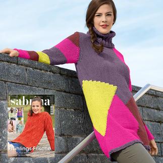 Anleitung 053/7, Pullover aus Roma von Junghans-Wolle