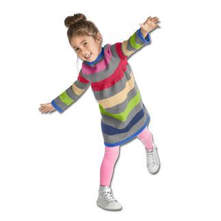 Anleitung 125/7, Kinderkleidchen aus Aparta-Nova von Junghans-Wolle