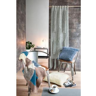 Anleitung 316/7, Decke, ca. 100 x 140 cm aus Merino-Classic und Pellini von Junghans-Wolle