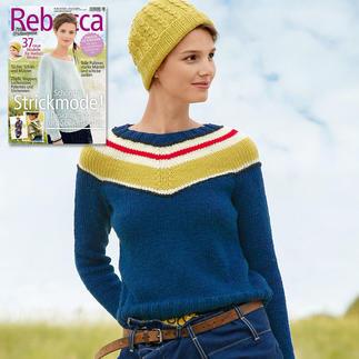 Anleitung 321/7, Pullover mit Mütze aus Sportlife von ggh, Modell aus Rebecca Heft 67