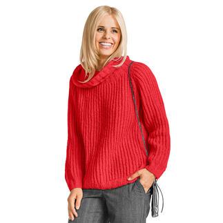 Anleitung 381/7, Damen Pullover aus Aspra von Junghans-Wolle