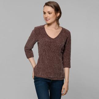 Anleitung 415/7, Pullover aus Velvet Fine von Katia