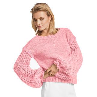 Anleitung 427/7, Damen Pullover aus Canoso von Junghans-Wolle