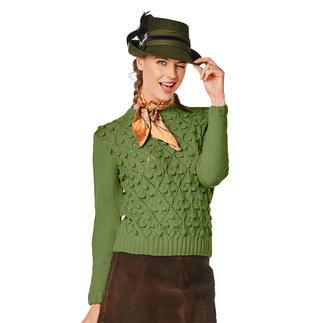 Anleitung 026/8, Damenpullover aus Fluffina von Junghans-Wolle