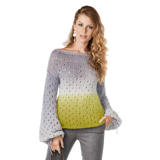 Anleitung 156/8, Pullover aus Pastellico von Junghans-Wolle