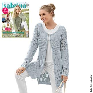 Anleitung 205/8, Damen Jacke aus Merino-Cotton von Junghans-Wolle