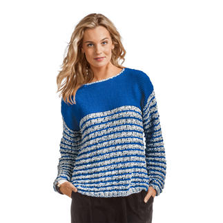 Anleitung 243/8, Pullover aus Trevisa, Cotonara und Bandana von Junghans-Wolle