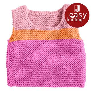 Anleitung 296/8, Babypullunder aus Merino-Classic von Junghans-Wolle
