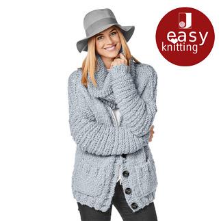 Anleitung 366/8, Jacke aus Bodo von Junghans-Wolle