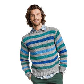 Anleitung 395/8, Pullover, 2-fädig aus Merino-Supersoft von Junghans-Wolle