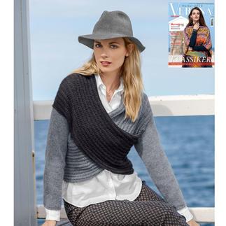 Anleitung 425/8, Pullover aus Kaschmir von Junghans-Wolle