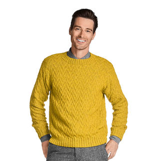 Anleitung 120/9,  Herren-Pullover aus Katina von Junghans-Wolle