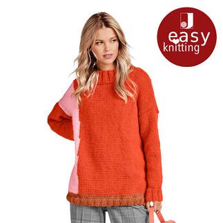 Anleitung 142/9, Pullover aus Canoso von Junghans-Wolle