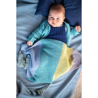 Anleitung 234/9, Babydecke ca. 48 x 68 cm aus Baby Smiles Cotton Bamboo von Schachenmayr