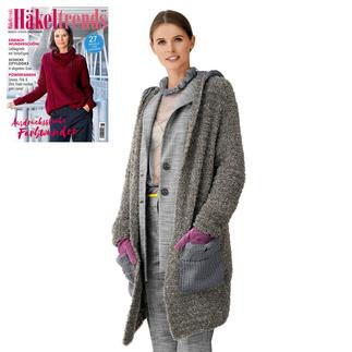 Anleitung 275/9, Mantel aus Teddy® und Merino-Cotton von Junghans-Wolle