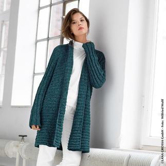 Anleitung 279/9, Jacke aus Mary's Tweed von Lana Grossa
