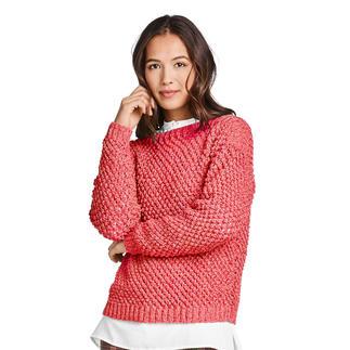 Anleitung 027/0, Pullover aus Bottoni von Junghans-Wolle