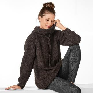 Anleitung 108/0, Damenpullover aus Cara und Merino-Extrafein von Junghans-Wolle