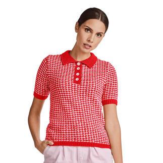 Anleitung 144/0, Damen Polo-Pulli aus Ribolli von Junghans-Wolle
