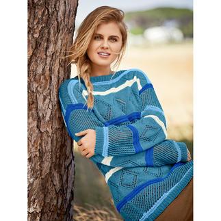 Anleitung 147/0, Pullover aus Cotton Superfine II von Junghans-Wolle