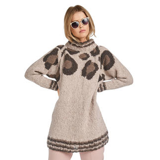 Anleitung 154/0, Pullover aus Cara und Feelana von Junghans-Wolle