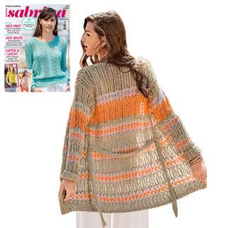 Anleitung 256/0, Damen Jacke aus Varese von Junghans-Wolle
