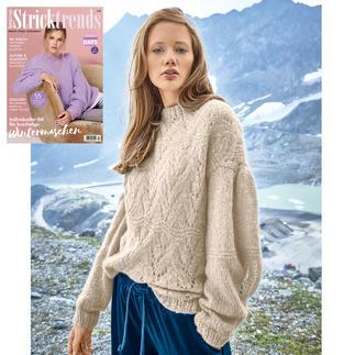 Anleitung 277/0, Pullover aus Aerea von Junghans-Wolle
