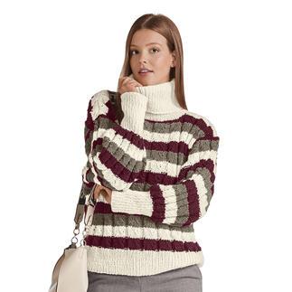 Anleitung 308/0, Pullover aus Landwolle von Junghans-Wolle