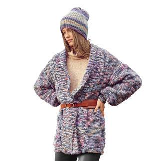 Anleitung 328/0, Jacke aus Creative Wooly Waves von Rico Design