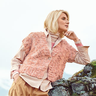 Anleitung 330/0, Weste aus Fashion Alpaca Vibes Aran von Rico Design