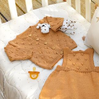 Anleitung 386/0, Babykleid aus Cotton-Cashmere von Katia