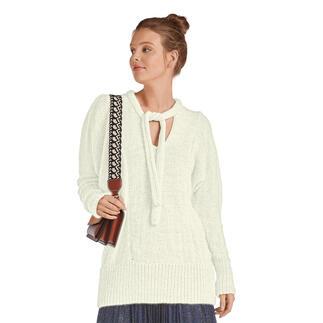 Anleitung 387/0, Pullover mit Puffärmel aus Valderamo von Junghans-Wolle