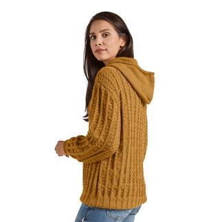 Anleitung 400/0, Pullover mit Kapuze aus Merino-Classic von Junghans-Wolle