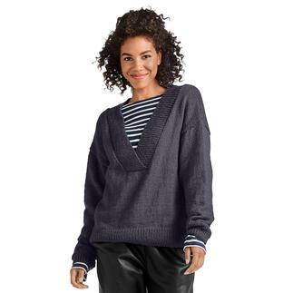 Anleitung 405/0, Pullover aus Melina von Junghans-Wolle