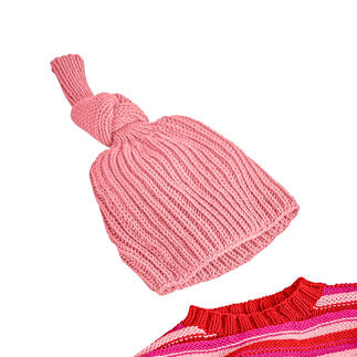 Anleitung 441/0, Kinder Mütze aus Merino-Cotton von Junghans-Wolle