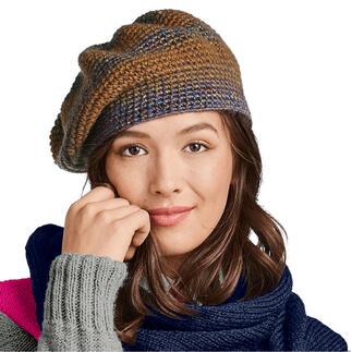 Anleitung 450/0, Baskenmütze aus Monello-90 Color von Junghans-Wolle