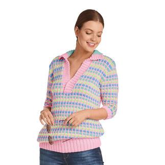Anleitung 013/1, Pullover, 2-fädig aus Micro von Junghans-Wolle