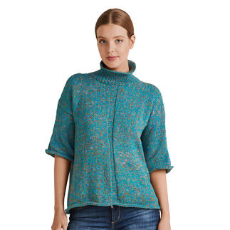 Anleitung 018/1, Pullover aus Lysander von Junghans-Wolle