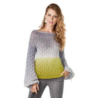 Anleitung 050/1, Pullover aus Pastellico von Junghans-Wolle