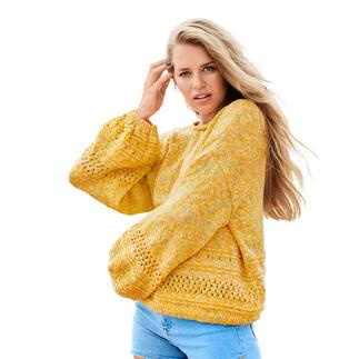 Anleitung 083/1, Pullover aus Creative Lazy Hazy Summer Cotton DK von Rico Design