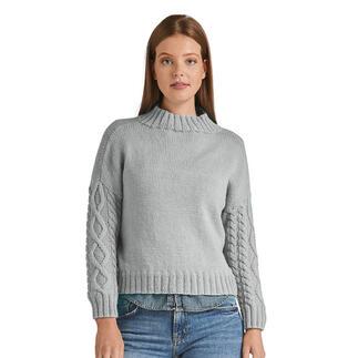Anleitung 088/1, Pullover aus Inja von Junghans-Wolle