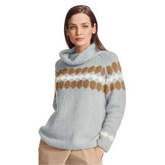 Anleitung 103/1, Pullover aus Arequipa von Junghans-Wolle